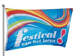 Festival vh leren vlag