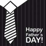 t shirt businessman background, happy fathers day. vector