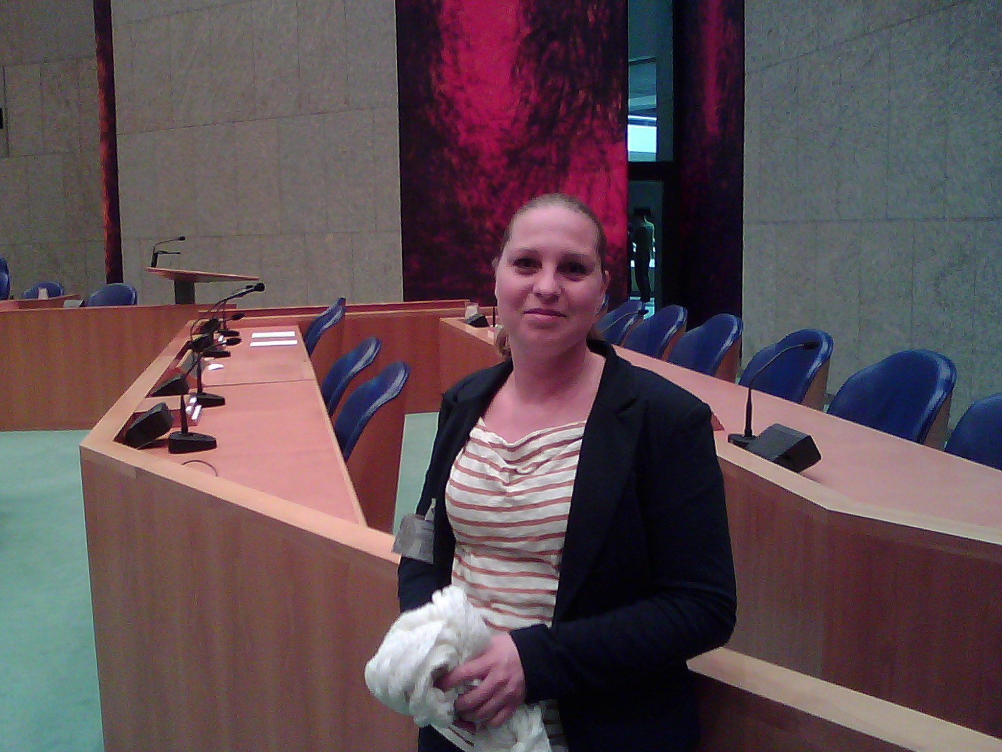 Annemieke voert lobby in Tweede Kamer